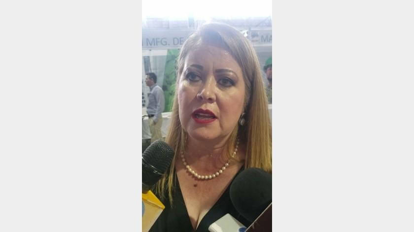 Wendee Molina, presidenta de Index Nogales y vicepresidenta nacional.(Rubén Ruiz)