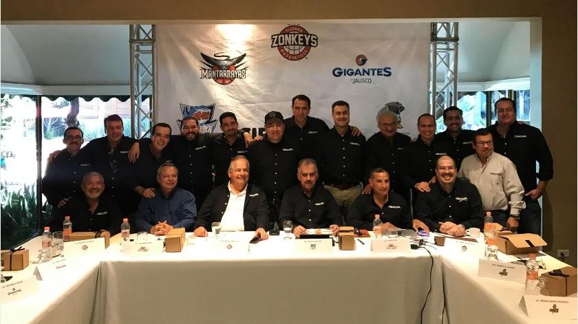 Los presidentes de los equipos que conforman el Circuito de Baloncesto del Pacífico llevaron a cabo su reunión previa en Tijuana para concretar detalles de los que será la nueva Temporada 2020.(Johanna Mejía)
