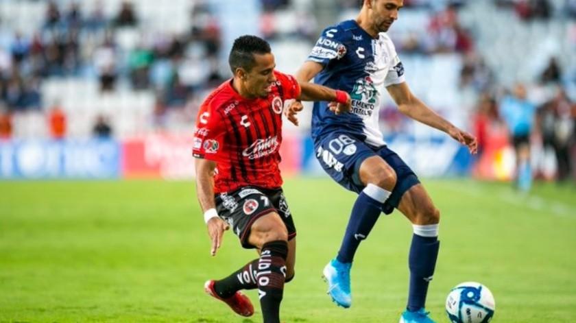 En una noche en la que sólo hubo un equipo en la cancha del Estado Hidalgo, los Tuzos le pasaron por encima a Tijuana 4-1 este sábado en las acciones de la jornada 10 de la Liga MX.(Twitter Xolos)