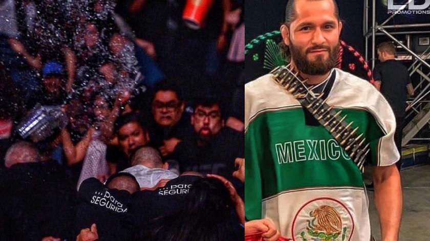 UFC: Estelar dura 20 segundos y afición agrede a peleadores(Twitter)
