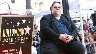 Guillermo Del Toro Walk of Fame ceremony.