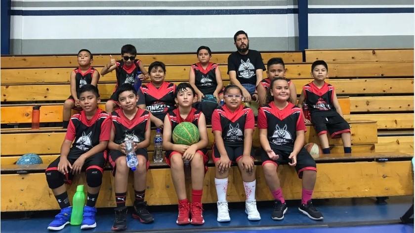 Una Intensa jornada tuvo Academia Zonkeys en el marco de la primera fecha de la edición XXVII de la Liga de Baloncesto San Marcelino Champagnat celebrada dentro de las instalaciones del Instituto México.(Cortesía)