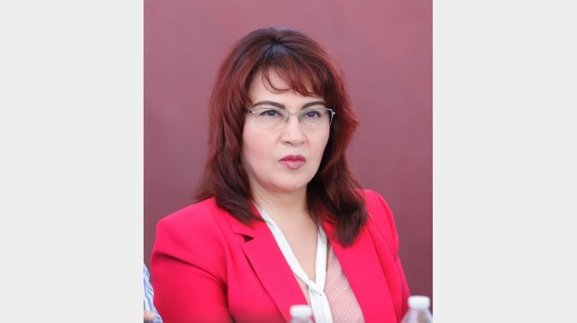 Fiscal Claudia Indira Contreras Córdova(Julián Ortega)