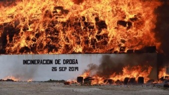 La incineración se realizó en el 28 Batallón de Infantería.