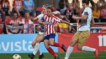 La capitana del Atlético de Madrid Amanda Sampedro.