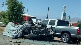 Accidente deja a dos personas sin vida en Calexico