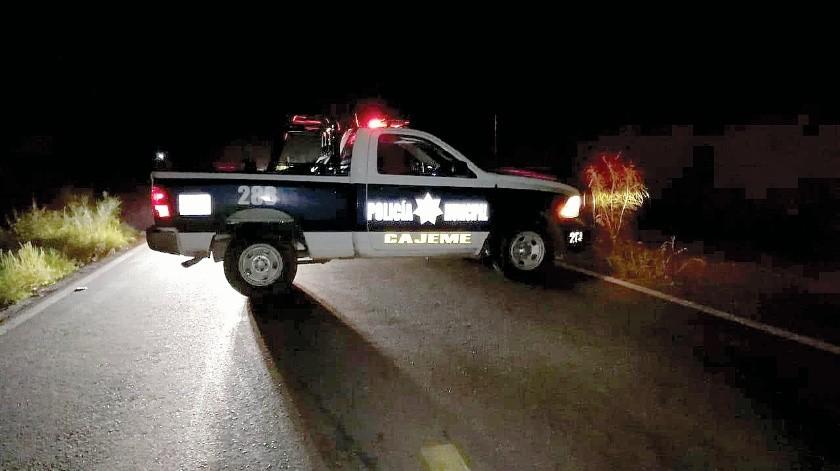 Encontraron a una persona con evidentes signos de tortura en el Valle del Yaqui.(Susana A. Arana)