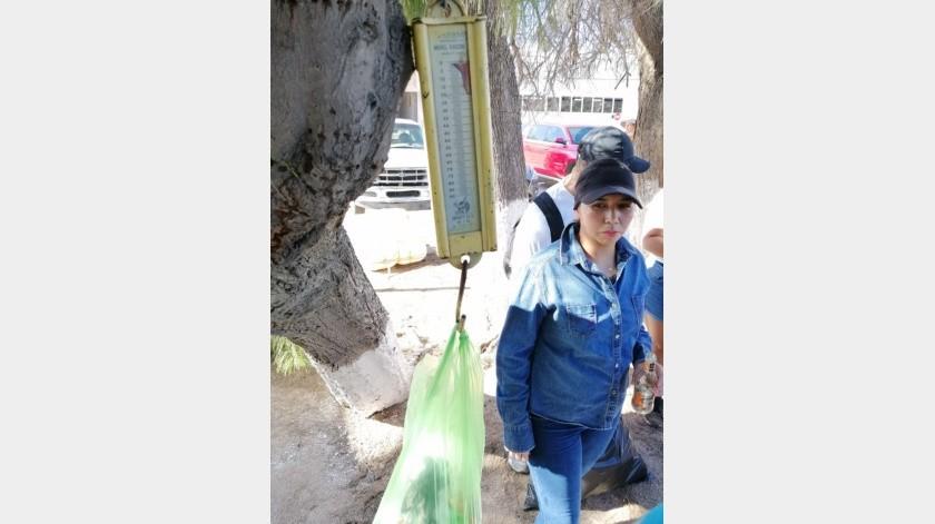 Recolectan más de 700 kilos de basura en playa de Bahía de Kino(Eduardo López)