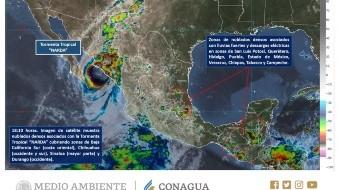 Alerta Amarilla para los municipios del sur de Sonora.