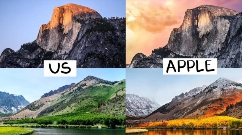 Youtubers viajan por California para recrear las imágenes más icónicas de wallpapers(Cortesía)