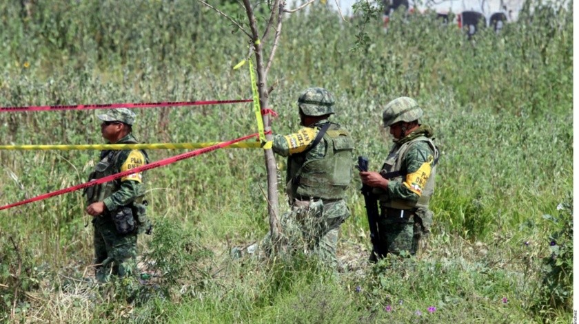 Personal de Pemex y bomberos repararon la fuga ubicada en el Estado de México(Agencia Reforma)