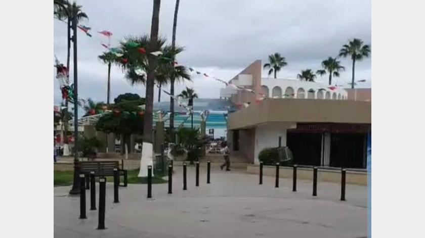 Lluvias ligeras y algunos nublados dejó el fenómeno tropical en su paso por Sonora.(Jesús Palomares)