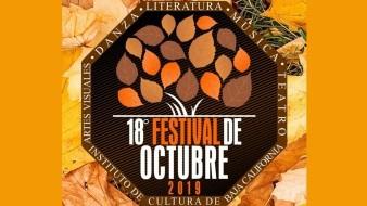 Las actividades del Festival de Octubre son admisión libre.