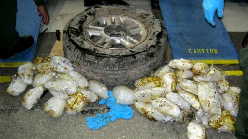 La droga fue entregada a las autoridades del Departamento del Alguacil del Condado de San Diego(Cortesía)