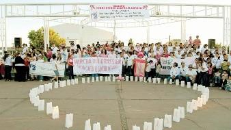 Realizan actividades en el mes de la lucha contra el cáncer