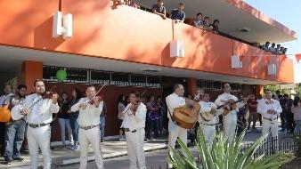 Las Mañanitas son ya una tradición para festejar el cumpleaños del ITH.