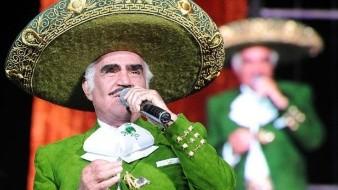 Vicente Fernández tiene 79 años.