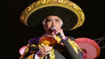 Vicente Fernández regresó por unas horas a su vida de artista, a pesar de su retiro de los escenarios hace más de tres años