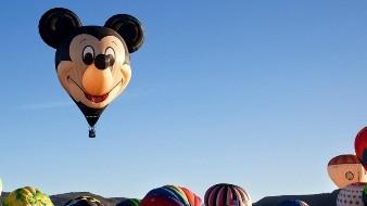 Las orejas y sonrisa inconfundibles de Mickey Mouse, volarán por los cielos de León, Guanajuato, en México.