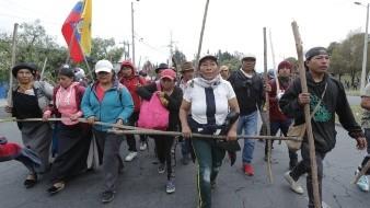 Ecuador ha sufrido varios días de protestas ciudadanas desde que el presidente, Lenín Moreno, canceló los subsidios al combustible.