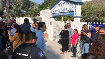La escuela primaria Miguel Hidalgo se localiza en la zona del Río Tijuana.