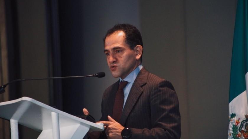 Arturo Herrera, titular de Hacienda.