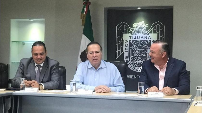 Canirac, delegación Tijuana, se reunió con la nueva administración municipal de Tijuana para plantear las necesidades y proyectos que tiene el organismo, acordando trabajar de la mano en beneficio de la ciudad.(Cortesía)