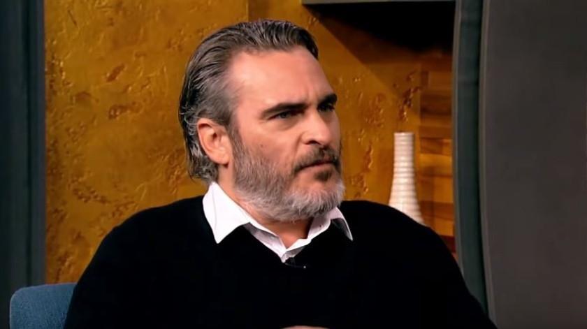 Joaquin Phoenix reflexionó sobre la idea.(Ilustrativa/YouTube:Popcorn with Peter Travers)