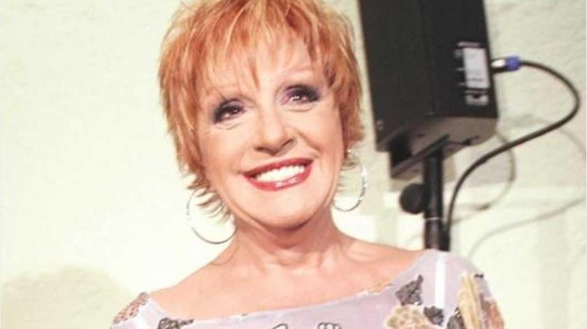 """Anel Noreña, exesposa de José José cumple hoy cumple75 años, apenas un día después del homenaje y sepultura al """"Príncipe de la Canción"""".(Tomada de la red)"""