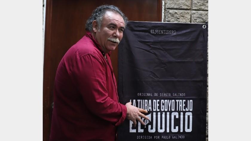 Jesús 'El Choby' Ochoa visitó Hermosillo para promocionar la obra.(El Imparcial)