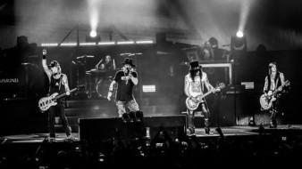 Guns N 'Roses se encuentra de gira.