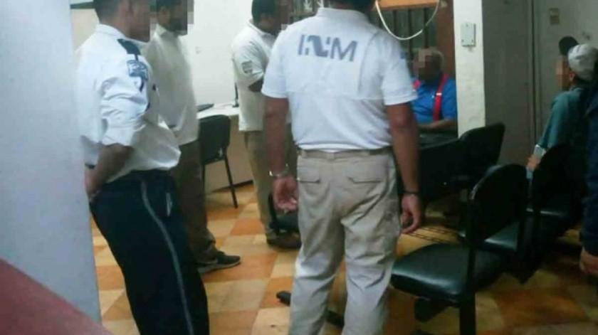 Migrante acusado de abuso en EU es detenido en Tamaulipas(Especial)