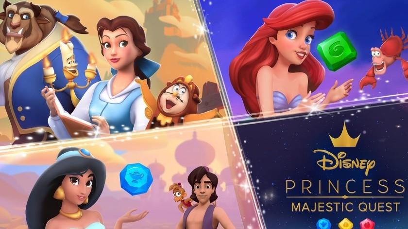 Disney Princess Majestic Quest está disponible para iOS, Android y Windows(Cortesía)