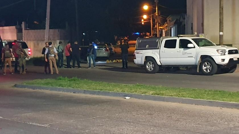 La vivienda atacada es propiedad de Sara Valle Dessens, alcaldesa de Guaymas, quien no se encontraba dentro.(GH)
