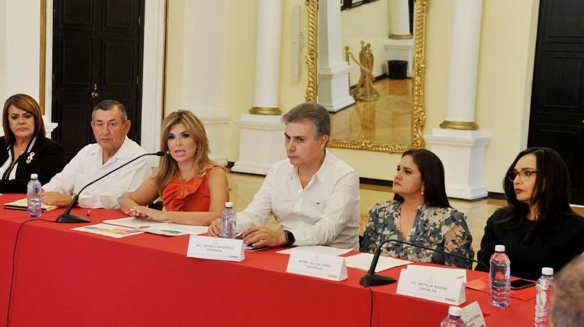 Claudia Pavlovich Arellano, gobernadora de Sonora, encabezó la reunión, donde se presentó la metodología para la integración de la propuesta de Sonora para el Presupuesto de Egresos de la Federación 2020.(REDACCIÓN GH)