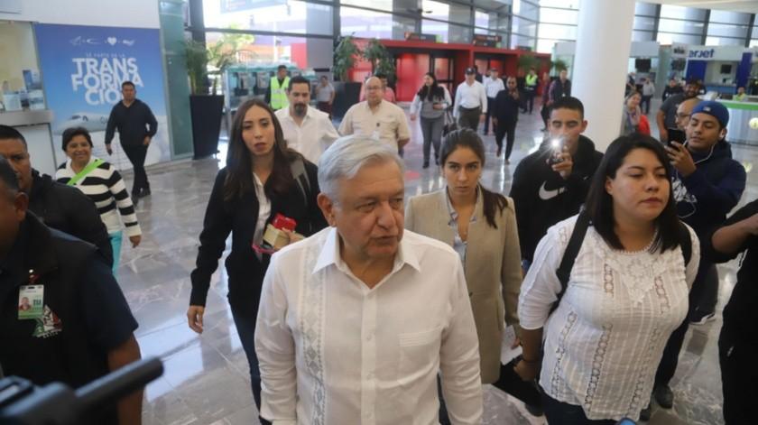 López Obrador de nuevo estará en la Entidad.
