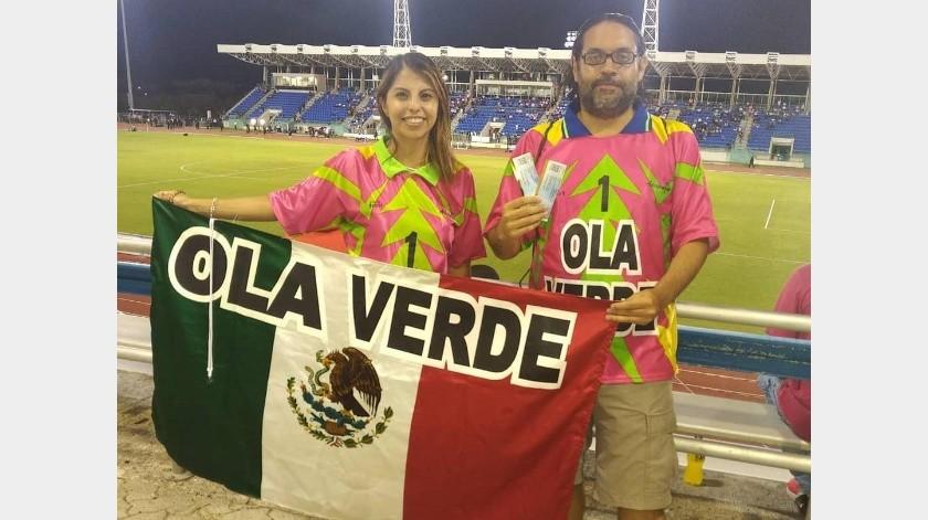 La pareja estuvo presente en el primer partido del 'Tri' de la Liga de Naciones de Concacaf.(Instagram)