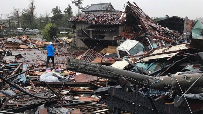 El terremoto se dejó sentir también con nivel 3 en varias zonas de Tokio.(EFE)
