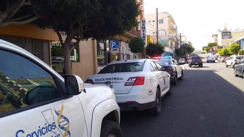 En el Hotel Catalina de la Zona Centro fue ejecutado por estrangulamiento un hombre identificado como Tim Umphress de 45 años de edad.(Margarito Martínez)