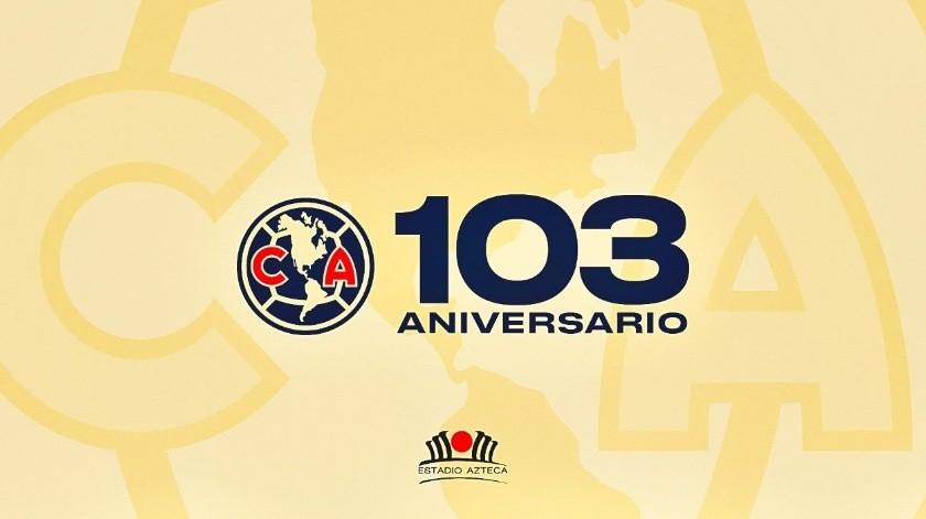 Las Águilas celebran 103 años de ser uno de los clubes más queridos y odiados por la afición.(Twitter)