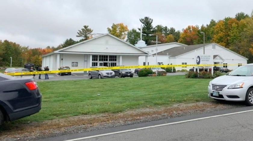 Se registra tiroteo en iglesia de Nuevo Hampshire; se celebraba una boda(@koreyobrienTV)