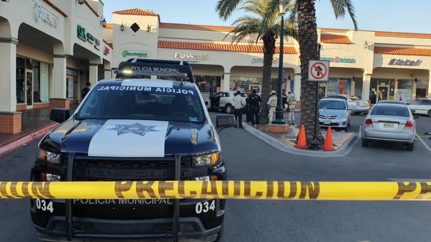 Se detalló que se escuchó una ráfaga de disparos y posteriormente los atacantes huyeron con rumbo desconocido.(Especial)