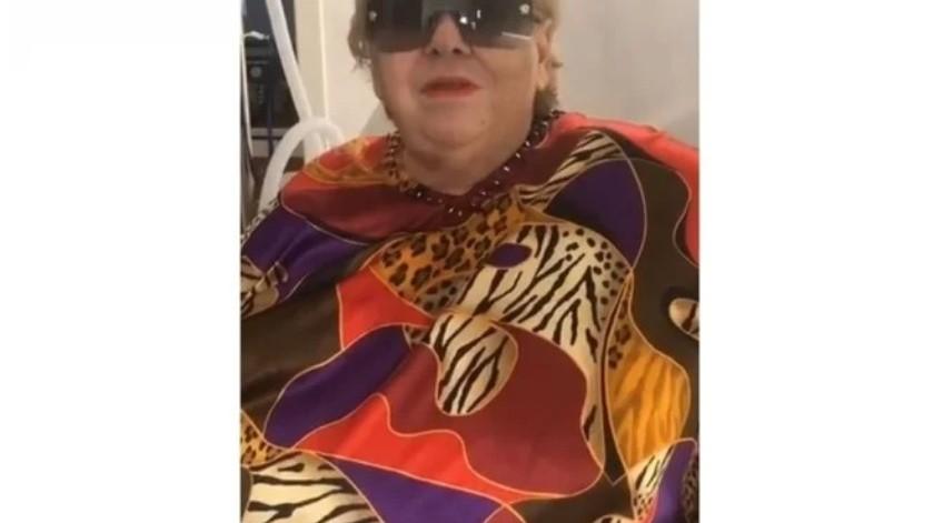 VIDEO: Paquita la del Barrio envía mensaje desde el hospital(Captura de video)