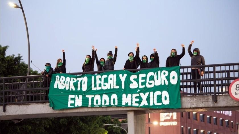 La Marea Verde ha realizado marchas exigiendo que el aborto se despenalice en todo México.(Archivo.)