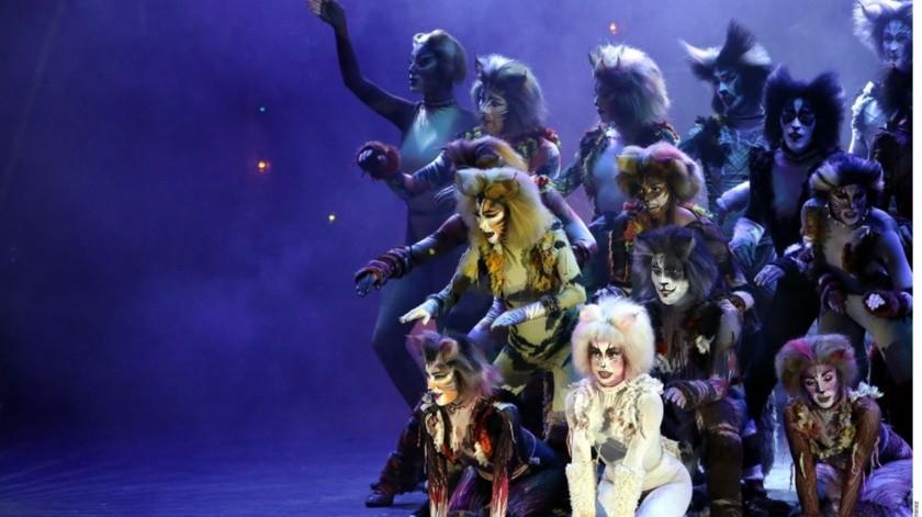 """""""Cats"""" es un famoso musical de Broadway que ha ganado 7 premios Tony y ha permanecido en cartelera por más de 30 años.(Agencias)"""