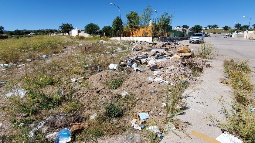 Los basureros clandestinos generan malos olores y fauna nociva.(Rubén Ruiz)