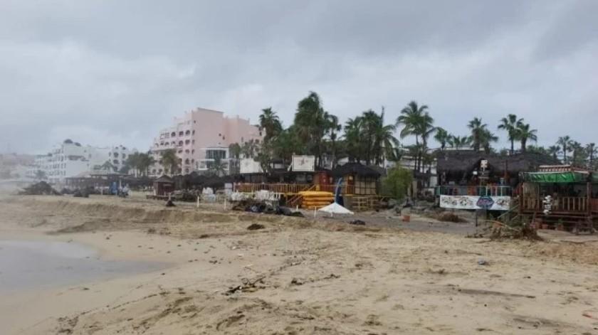La lluvia en Los Cabos dejó al menos una persona sin vida.(El Universal)