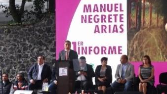 El exfutbolista aseguró que se avanza con pasos firmes para la transformación de la vida pública de Coyoacán.