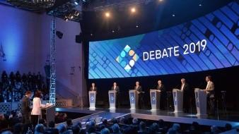 El primer debate presidencial televisado para las elecciones argentinas del 27 de octubre comenzó en la noche de este domingo.