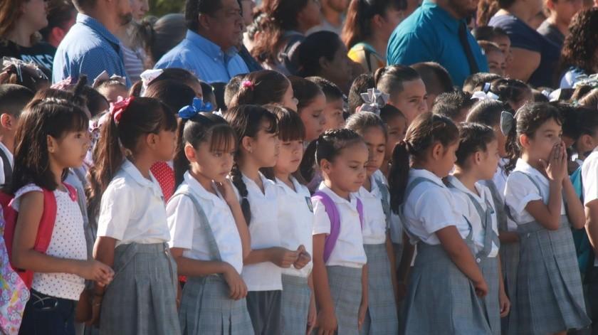 Protección Civil recomendó no enviarlos a clases por las condiciones climatológicas.(Banco Digital)